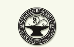 Logo of the Australian Blacksmiths Association (Vic) Inc.